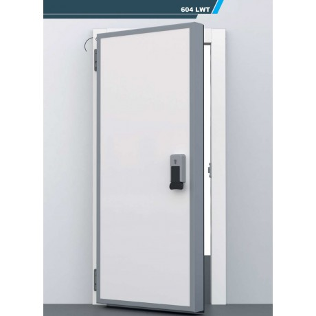 Porte isotherme n gative pivotante isotherme chambre for Porte isotherme chambre froide