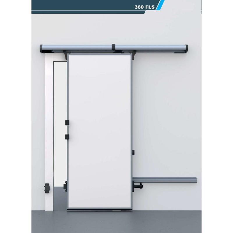 Porte chambre froide coulissante positive 360fls for Porte coulissante chambre
