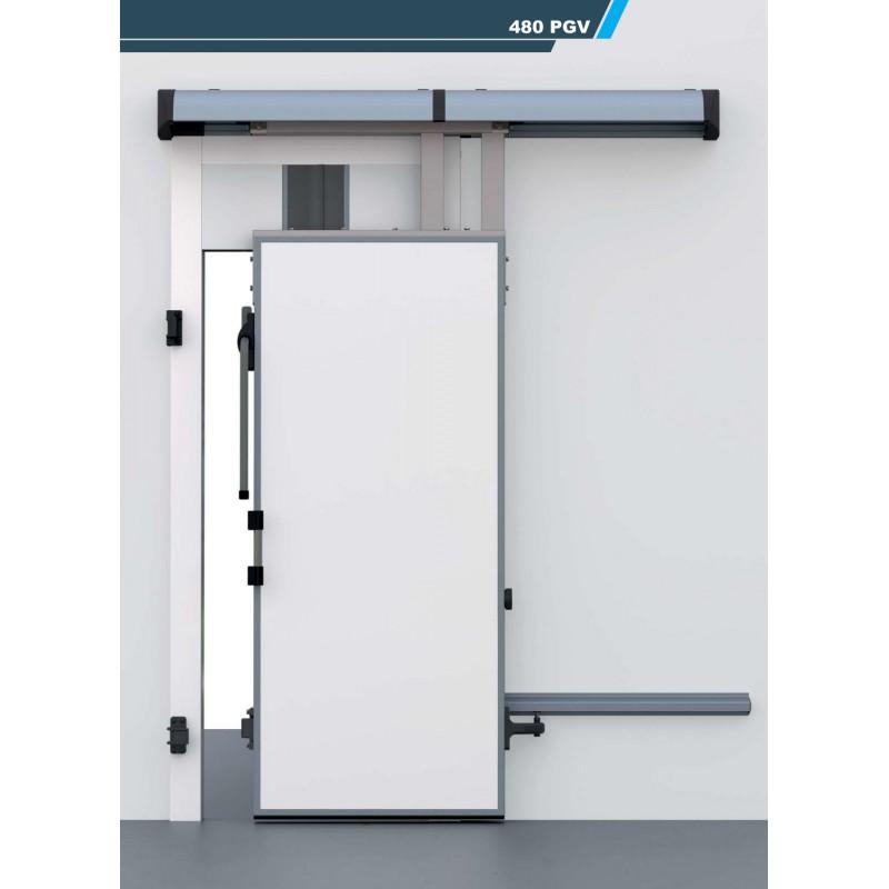 Porte chambre froide coulissante 480pgv for Porte coulissante chambre