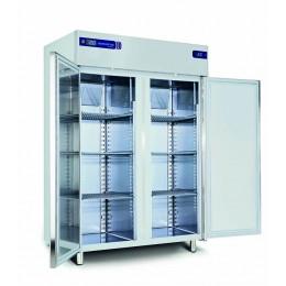 Armoire réfrigérée inox (-15 -22/-15 -22°C) 2 chambres séparées