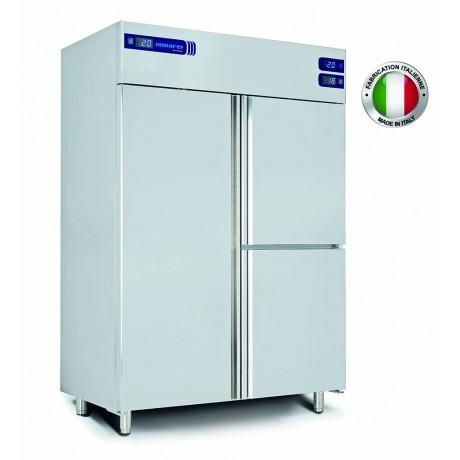 Armoire réfrigérée inox (-2+8 / -15-22 / -1-5 °C) 3 chambres séparées