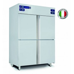 Armoire réfrigérée inox (-2+8 / -2+8 / -15-22 / -1-5°C) 4 chambres séparées