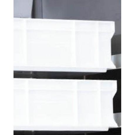 Récipient perforé en PVC