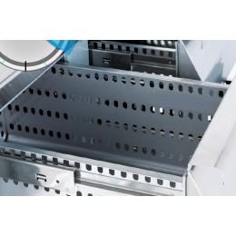 2 tiroirs refrigérés (1/2+1/2) avec glissières télescopiques