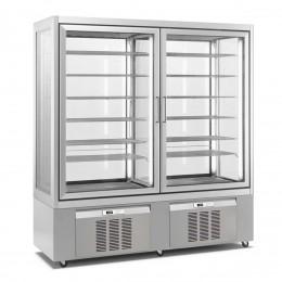 Vitrine réfrigérée (+5 / -20°C) 600 L