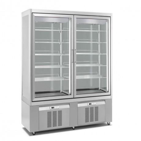 vitrine r frig r e 2 15 c 840 l. Black Bedroom Furniture Sets. Home Design Ideas