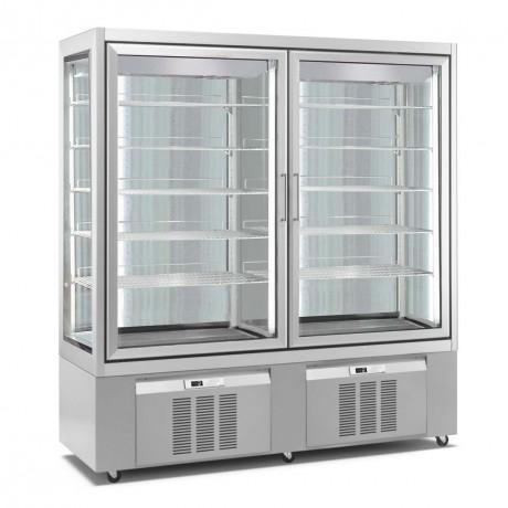 vitrine r frig r e 2 15 c 1200 l. Black Bedroom Furniture Sets. Home Design Ideas