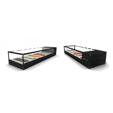 Vitrine d'exposition Logic Sushi VTLG6 (0 / +4°C)