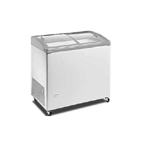 congelateur professionnel bahut vitre bombée