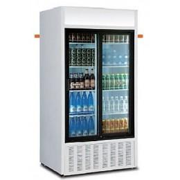 armoire boisson double porte