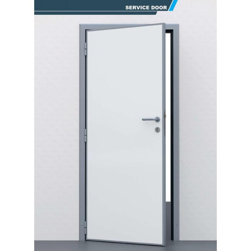 Porte chambre froide pivotante semi isotherme 725 00 ht colddistribution - Porte isotherme chambre froide ...