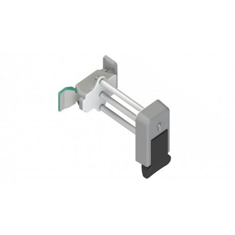 kit poign e interne externe csi avec serrure pour porte. Black Bedroom Furniture Sets. Home Design Ideas