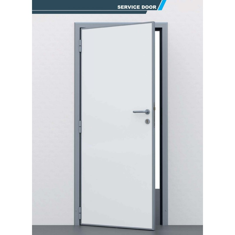 Porte de service pivotante semi isotherme eco chambre froide for Porte isotherme chambre froide