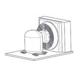 Unité à distance refroidissement à air (jusqu'à 10 m)