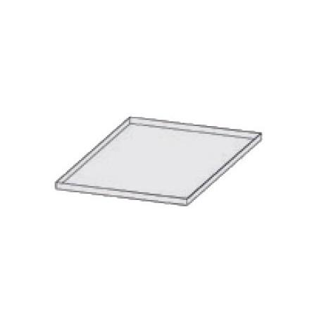 Plateau en aluminium 600x400 H20 mm