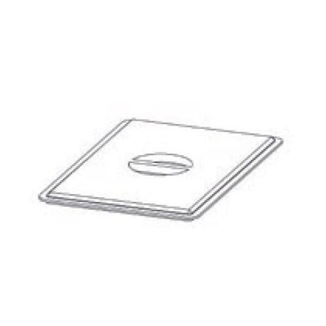 Couvercle en PVC pour récipient 600x400 mm Mod. Pizza