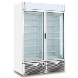 congélateur à glace double porte