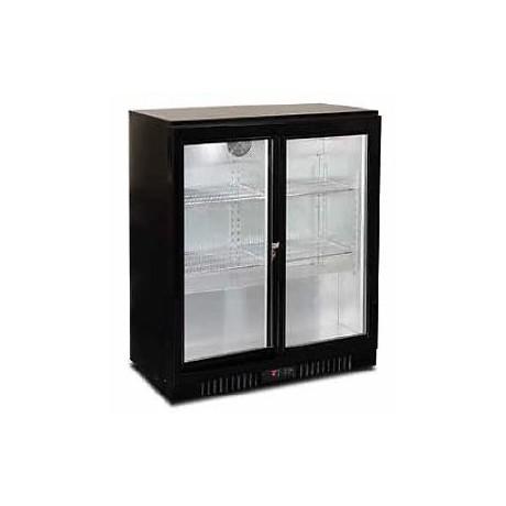 frigo a boisson deux portes