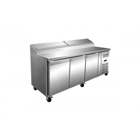 Table réfrigérée à Sandwich 3 Portes P700