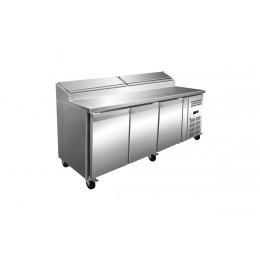Table réfrigérée à Sandwich 3 Portes P800