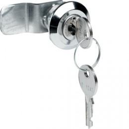 Fermeture avec serrure à clef