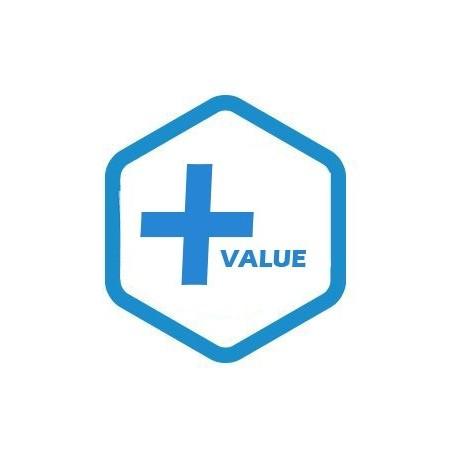 Plus value pour modèle hors standard (1 côte sur mesure)
