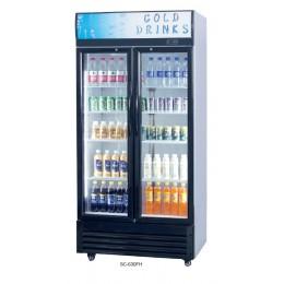 Vitrine à boisson 320 L avec porte vitrée