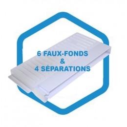 Kit intérieur AD 250 : 6 faux-fonds & 4 séparations