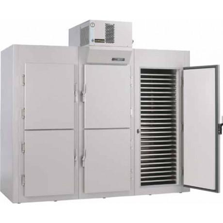Armoire modulaire démontable pour produits réfrigérés - Une porte