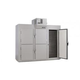 Armoire modulaire démontable pour produits réfrigérés - 6 portes