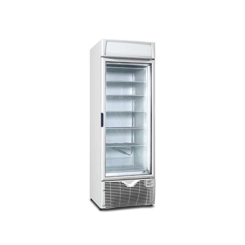 congelateur pro vitrée