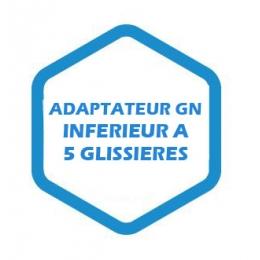 Adaptateur GN inférieur à 5 glissières