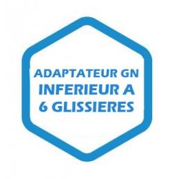 Adaptateur GN inférieur à 6 glissières