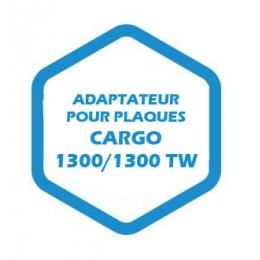 Adaptateur pour plaques Cargo 1300/1300 TW
