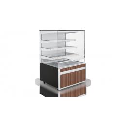 Vitrine à patisserie Cube W 3P Open
