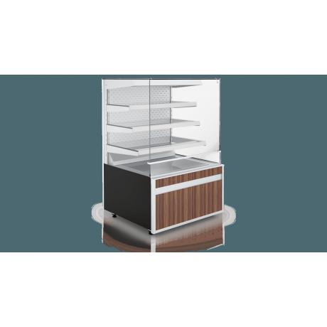 Vitrine à patisserie Cube W 3P Open Mod C