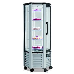 Vitrine réfrigérée positive Esagonale 280 litres