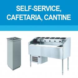 Self-service, cafétaria et cantine