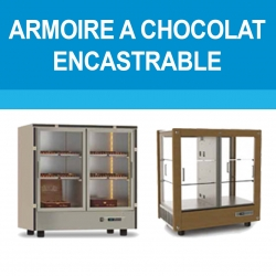 Armoire à chocolat encastrable