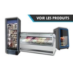 Vitrine à glaces & congelateur à glaces