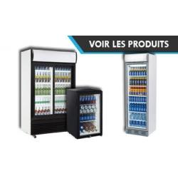 Armoire à boisson & frigo vitrine & frigo vitré